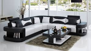 Cool Modern Living Room Sets Purple Cushion Sofa Table Set Beige - Black modern living room sets