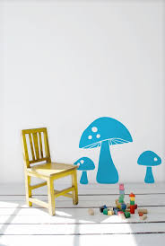 70 best gnomes shrooms images on pinterest mushrooms felt cute mushroom three mushrooms vinyl wall sticker by