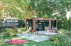 Backyard  Garden Design Ideas Magazine Issue  Features An - Backyard and garden design ideas magazine