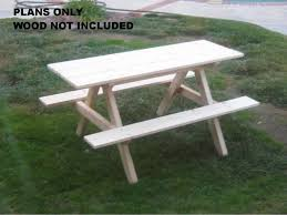 Kids Outdoor Picnic Table Years Quality Handmade Kids Timber Picnic Table Wooden Targovci Com