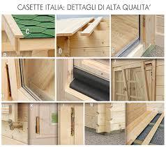 costruzione casette in legno da giardino sistema blockhouse casette italia casette da giardino in legno