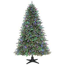 color switch plus 7 5 ft prelit spruce tree sears