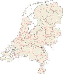 The Netherlands Map Railroads Netherlands U2022 Mapsof Net