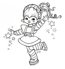 free printable rainbow brite coloring pages google twit regarding