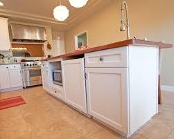 Microwave In Island In Kitchen The Multi Purpose Kitchen Island