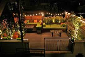 Outdoor Lighting Ideas For Patios Outdoor Backyard Lighting Ideas Trend With Image Of Outdoor