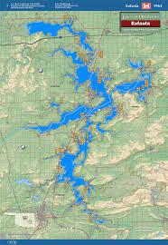 Haskell Map Lake Eufaula Map Oklahoma