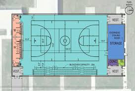 design for lafayette high auxiliary gym brings smiles the