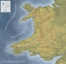 Map Of Wales Map Of The Day U2013 The Map Den