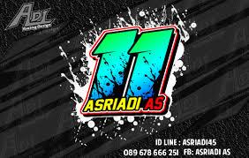 gambar desain nomer racing desain nomor start dan nama adi racing desain desain nomor start