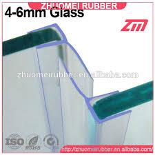 water stop glass shower door sweep buy glass shower door sweep