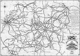 Map Of Nashville Bicycle Road Map Of The Bluegrass Region Of Kentucky 1899