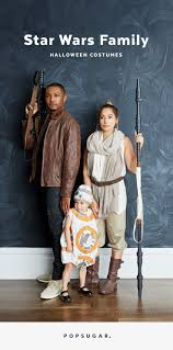 Easy Family Halloween Costumes Use The Force As A Couple Or A Family With This Halloween Idea
