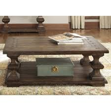 Overstock Sofa Table by Liberty Traditional Spanish Kona Brown Cocktail Table Overstock