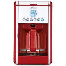 amazon com bella linea collection 12 cup programmable coffee amazon com bella linea collection 12 cup programmable coffee maker color red 14108 kitchen dining