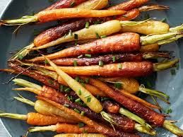 roasted rainbow carrots recipe food network kitchen food network