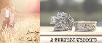 country wedding rings jewelry gifts for a country wedding hyo silver