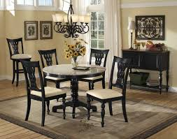 round granite table top dining room engaging dining room decoration using round cream