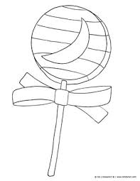halloween lollipop candy free halloween coloring pages print