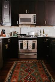 White Hut Kitchen by Our Simple Kitchen Update Gold Hardware Swap