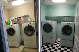 laundry room makeover 1950 u0027s style