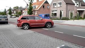 srt jeep red jeep grand cherokee srt8 matt red acceleration youtube
