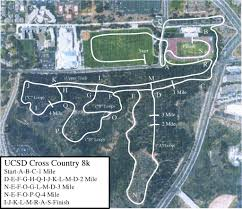 Ucsd Maps Photo Gallery Cross Country Course Maps Ucsdtritons Com