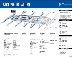 Las Vegas Airport Terminal Map by Ambitious And Combative L A X Terminal Maps