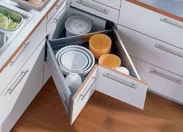 Corner Storage Solutions For The Kitchen ModSpacein Blog - Kitchen cabinets corner drawers