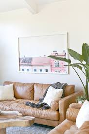 sofa tour elsie s living room tour before after a beautiful mess