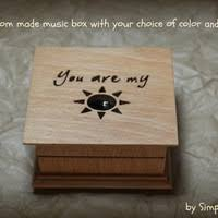 Personalized Music Box Best You Are My Sunshine Necklace Products On Wanelo