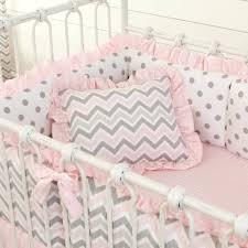 Gray And White Chevron Crib Bedding Gray And White Chevron Crib Bedding