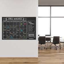 amazon com large erasable chalkboard calendar wall decal sticker amazon com large erasable chalkboard calendar wall decal sticker 24