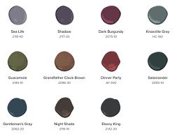 benjamin moore 2017 color palette intentionaldesigns com