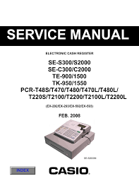 casio pcr t2100 service manual