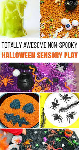 awesome non spooky halloween sensory play ideas for kids