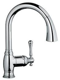 grohe alira kitchen faucet grohe bridgeford single handle deck mount kitchen sink faucet