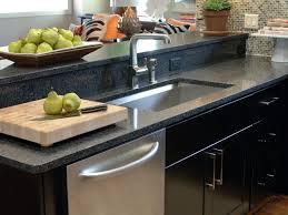 granite countertop ceramic sink kitchen moen 2 handle faucet how
