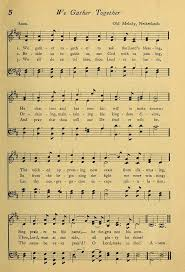 thanksgiving gather together hymn