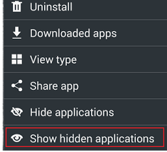 how to apps on android how to hide apps on an android device