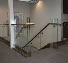 glass stair railing gallery modern designs haammss
