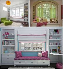 15 amazing window seat designs for your kids room