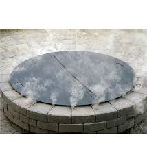 Firepit Lid Heavy Duty Stainless Steel Pit Cover Pits