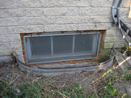 replace a steel of basement window wells