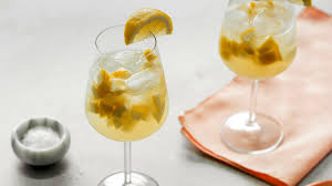 french 75 garnish salted lemon ginger spritzer recipe nyt cooking