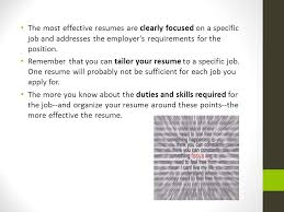 Resume Requirements Cover Letter Resume And References Ppt Download