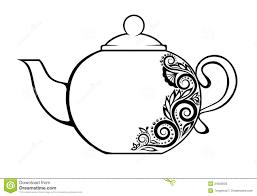 teapot printable coloring pages glum me
