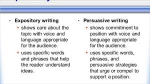 how to write a persuasive paper difference between expository and persuasive youtube