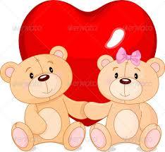 valentines bears teddy bears in by dazdraperma graphicriver