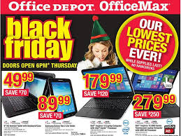 office depot officemax black friday 2014 deals include pair of